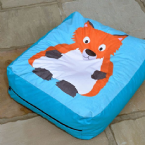 Fox Outdoor and Indoor Bean Cushion